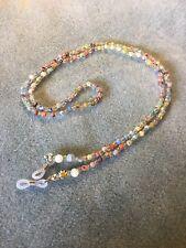 Eyeglasses Lanyard Spectacle Chain Millefiori Beaded Retainer Chain Pattern 3