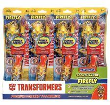 Kids Transformers Boys Premium Battery Powered Toothbrush, 4 pack