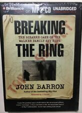 Breaking the Ring by John Barron  Audiobook on MP3-CD  Unabridged