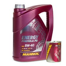 5 Liter MANNOL 5W-40 Formula PD Motoröl 1x350ml MANNOL 9900 Motor Flush Spülung
