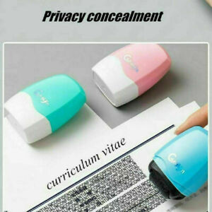 Identity Stamp Theft Protection Roller Privacy Confidential Data Guard Your ID