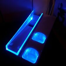 4Gamers Console Stand Blue LED For Nintendo Wii + 2x AA Rechargeable Batteries