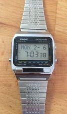 Seltene Vintage Casio TE-2500 digitales Wörterbuch Translator Watch