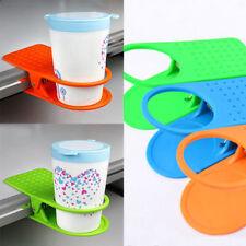 Porte-Gobelet Coupe Mug Pince Clip Café Boissons Titulaire Agrafe Bureau Table