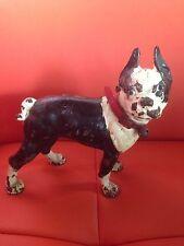 antique Cast Iron bulldog Doorstop