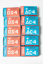 5 rolls 35mm colour film Svema DS-4 (DC-4). Soviet negative film, expired
