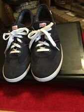 Keds sz 8.5 Navy Blue Tennis Shoes Ladies Sneakers Shoes Wf46598M Preowned