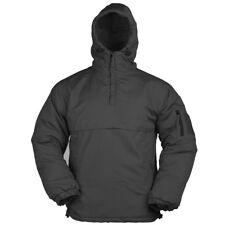 Mil-Tec Mens Tactical Security Police Fleece Lined Anorak Coat Windbreaker Black