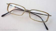 Brillenfassung Hornoptik schmale Form rechteckig Herrenbrille  Größe - size S