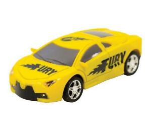 Pocket Racers Yellow Fury Remote Control Car New