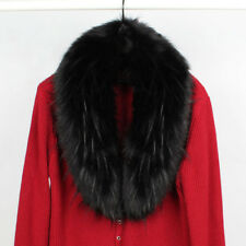 Winter Faux Fur Collar Gorgeous Fur Collar Scarf Stole Cape Muffler Wrap ShawlUK