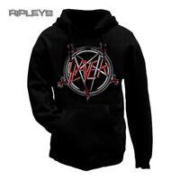 Official SLAYER Hoody/Hoodie Metal PENTAGRAM Logo Pullover All Sizes