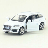 1:36 Audi Q7 SUV Model Car Alloy Diecast Toy Vehicle Pull Back White Kids Gift