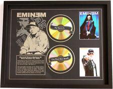 New Eminem CD Memorabilia Framed