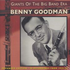 [NEW] 2CD: BENNY GOODMAN: GIANTS OF THE BIG BAND ERA