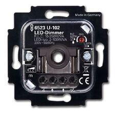 5 Jahre Garantie! Busch Jäger LED Drehdimmer Unterputz UP 6523U-102 (6523U-102)