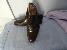 MENS REISS COLOUR LEATHER LACE-UP SHOES SIZE UK 7 GREAT CONDITION