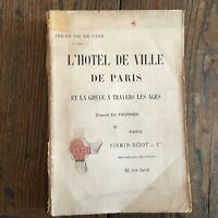Jehan de La Ciudad EN HOTEL París Y Huelga Cruzado Edades Didot S. D
