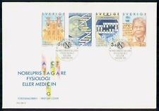 Mayfairstamps SWEDEN FDC 1989 COVER NOBELPRIS BOOKLET PANE OF 4 wwm46359