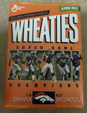 1997 Denver Broncos Super Bowl XXXII Wheaties Box