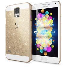 Samsung Galaxy S5 / S5 Neo Handy Hülle von NICA, Glitzer Hard Case Cover Bumper