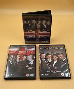 LAW & ORDER UK SERIES 1, 3, 6 DVDS