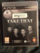 PS3 Take That Singstar Sony PlayStation Computer Game