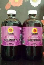 "Tropic Isle Living  ""Lavender"" Jamaican Black Castor Oil 8oz (Pack Of 2)"