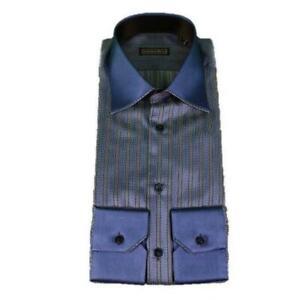 STEFANO RICCI 100% Silk Dress Shirt 65% OFF RETAIL