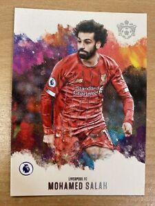 2020 Panini Chronicles Soccer Mohammed Salah Pitch Kings Liverpool