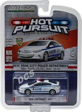 2016 CHEVROLET VOLT NEW YORK CITY POLICE CAR NYPD 1/64 BY GREENLIGHT 42770 E