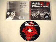Robbie WILLIAMS - Live Summer 2003 - 1 CD