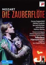 Die Zauberflöte - Richter/ Kleiter/ Harnoncourt/ Concentus Musicus W DVD (2 NEU