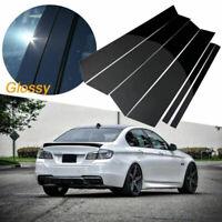 BMW F10 5 Series Carbon Fiber Door Trim Pillar Panel 6pcs 528 535 550 M5 2011