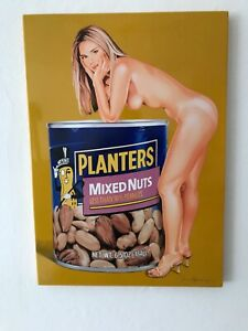Mel Ramos Mixed Nuts 2009 Emaille