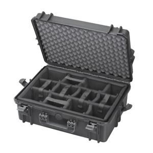 Fotokoffer Kamerakoffer, Fachteilung, Outdoor Case 500x350x195, wasserdicht IP67