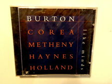 BURTON - COREA - METHENY - HAYNES - HOLLAND -  LIKE MINDS - CD NUOVO E SIGILLATO