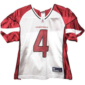 Reebok Arizona Cardinals Football Jersey Kevin Kolb #4 White Red Size Medium
