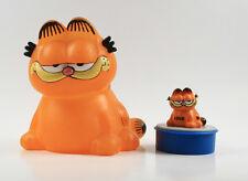 Garfield === 2 x familia Garfield figuras quietscher + pequeño de Bully sentado
