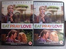 Julia Roberts Javier Bardem EAT PRAY LOVE 2010 Drama UK DVD w/ Slipcover