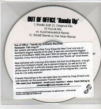 (CI135) Out of Office, Hands Up - 2007 DJ CD