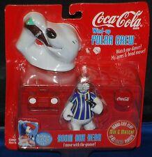 Coca-Cola Polar Bear Wind - Up Crew Watch Him Dance 1998 Boom Box Bear