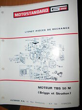 Motostandard Gutbrod moteur 5cv TBS 50 M - Briggs & Straton : catalogue pièces