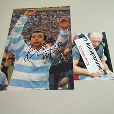 Hugo Porta Rugby Player Argentina in-person Signed Photo 20x30 Autograph