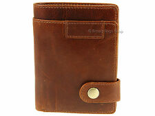 Primehide New York Range RFID Blocking Leather Wallet For Cards Banknotes Coins