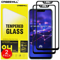 For Huawei Mate 20 Lite - FULL COVER Tempered Glass Screen Protector [2-Pack]