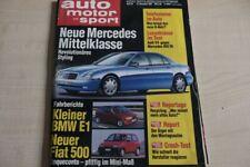 3) Auto Motor und Sport 26/1991 - Audi V8 4.2 Exclusiv  - Mercedes 400 SE W140