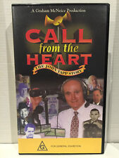 CALL FROM THE HEART~THE JOHN TAPP STORY~RACECASTER HORSE RACING~ BRAND NEW VIDEO