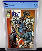 Doom Patrol #35 CBCS 9.6! 1st Appearance of Flex Mentallo! 1990! White Pages!