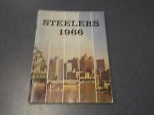 1966 Pittsburgh Steelers Football NFL Media Guide (PL1)